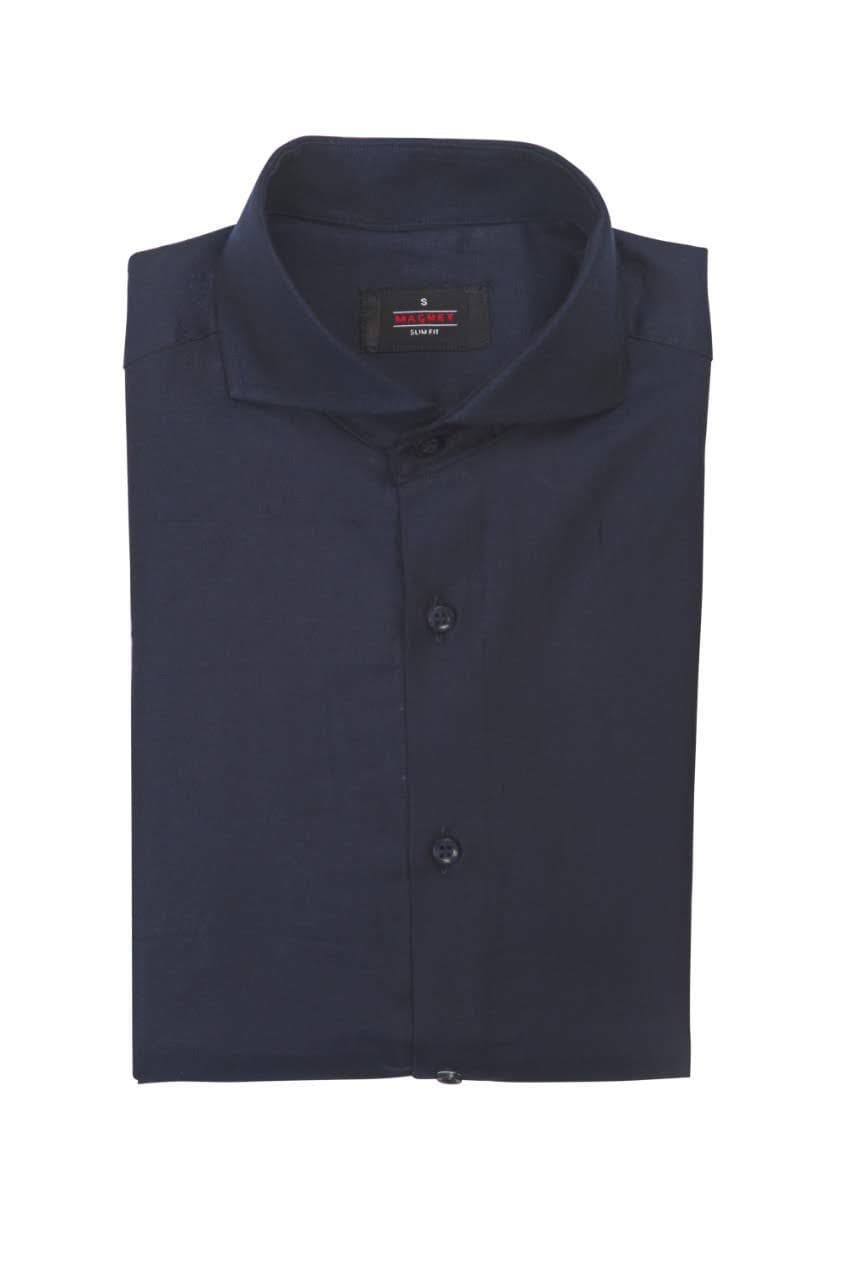 Magnet Navy Blue Chambray